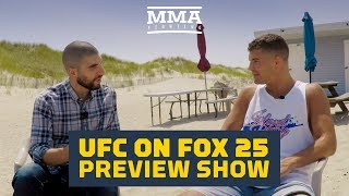 Before UFC on FOX 25, MMA FIghting's Ariel Helwani gets some help from Al Iaquinta to break down Saturday night's card.Subscribe: http://goo.gl/dYpsgHCheck out our full video catalog: http://goo.gl/u8VvLiVisit our playlists: http://goo.gl/eFhsvMLike MMAF on Facebook: http://goo.gl/uhdg7ZFollow on Twitter: http://goo.gl/nOATUIRead More: http://www.mmafighting.comMMA Fighting is your home for exclusive interviews, live shows, and more for one of the world's fastest-growing sports. Get latest news and more here: http://www.mmafighting.com