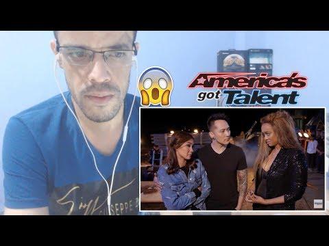 Demian Aditya: Escape Artist Attempts Deadly Performance - America's Got Talent 2017 |REACTION| (видео)