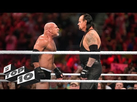 Wildest Royal Rumble Match showdowns: WWE Top 10, Jan. 13, 2018 (видео)