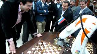 Robot vs Chess World Champion XIV
