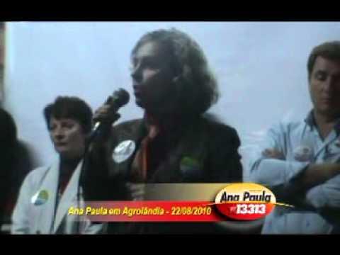 Ana Paula em Agrolândia - 22/08/2010