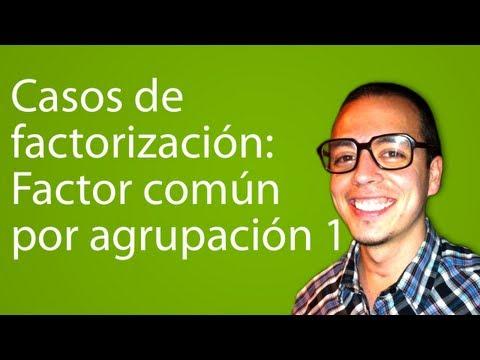 Casos de factorización: Factor común por Agrupación 1