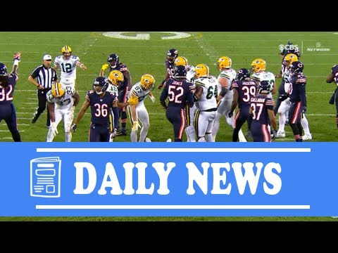 [Daily News] Packers' davante adams hospitalized in green bay after taking vicious hit vs. bears