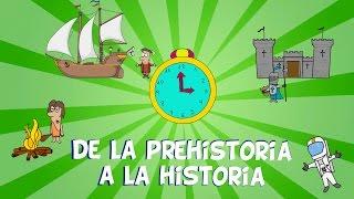 Download Lagu De la prehistoria a la historia,  las edades del hombre. Vídeos educativos para niños Mp3