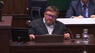 Wysłuchajcie poruszającego wystąpienia Sławomir Piechota Poseł na Sejm RP!