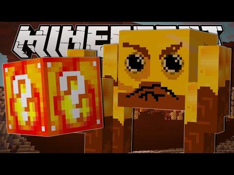 Minecraft   NETHER BLIMP CHALLENGE!!   Custom Mod Minigame