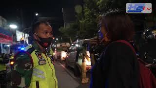 Gelar Operasi Masker Gabungan Dikota Tegal, 20 Warga Dikenakan Sangsi Push Up