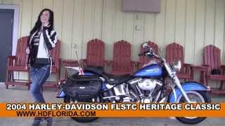 3. Used 2004 Harley Davidson Heritage Softail Classic Motorcycles for sale