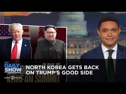 North Korea Gets Back on Trump's Good Side | The Daily Show (видео)