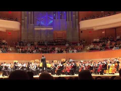 2016 CUSD Honors Concert @ Sergerstrom Concert Hall  Masquerade l Waltz by Aram Khachaturian