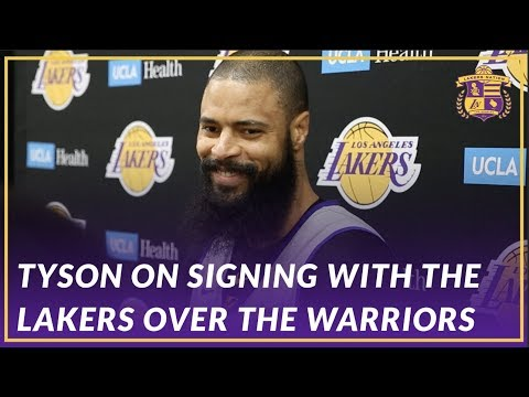 Video: Lakers Interview: Tyson Chandler on Choosing The Lakers Over the Warriors