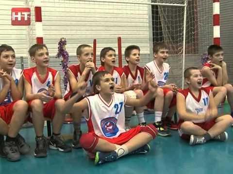 Детско-юношеский баскетбольный клуб «имени Сергея Алексеевича Яшкина» устроил предновогодний праздник для самых юных воспитанников