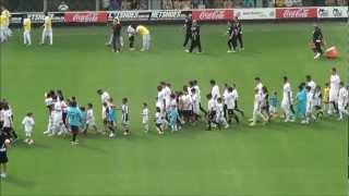 Santos venceu o clássico contra o São Paulo por 3X1. Gols de Miralles e Neymar
