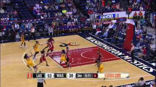 Kristi Toliver Scores 19 in Sparks Win by WNBA