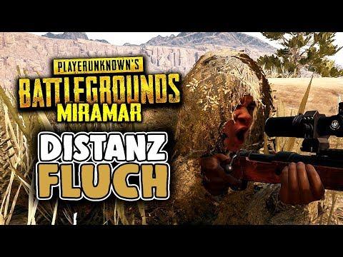Playerunknowns Battlegrounds - Distanz Fluch - PUBG