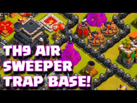 New Layout Th9 With Air Sweeper Base With New Air Sweeper