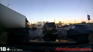 Аварии на видеорегистратор 2014 (13) / Сar Crash Compilation
