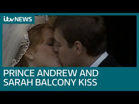 Prince Andrew and Sarah Ferguson's wedding day in 1986 | ITV News