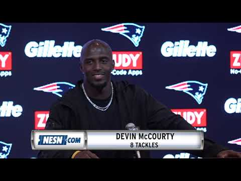 Video: Devin McCourty Week 13 Patriots vs. Vikings Postgame Press Conference