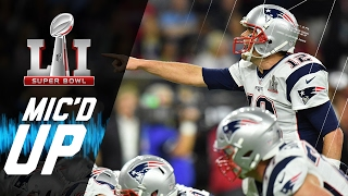Relive one of the best Super Bowls of all time from a whole new perspective, with mic'd up Falcons and Patriots players ...