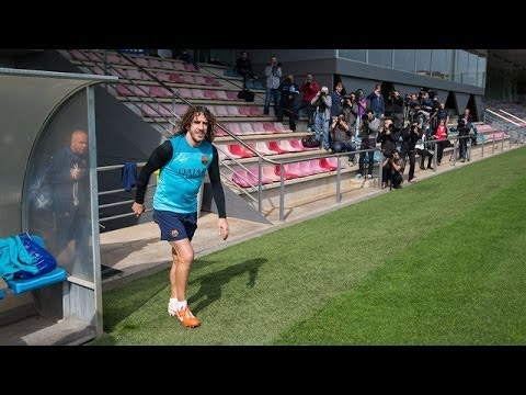 Training - Barça 2.0 Subscribe on our official channel http://www.youtube.com/subscription_center?add_user=fcbarcelona Facebook: http://www.facebook.com/fcbarcelona...