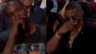 Kevin Durant x Russell Westbrook x ESPY Awards Subscribe ALL URBAN CENTRAL: http://goo.gl/X9p1UOFollow ALL URBAN CENTRALINSTAGRAM: https://goo.gl/rk9NhLAUC Comment Creepers CHANNEL: http://goo.gl/SfavtPFACEBOOK: http://goo.gl/1CPTRmWEBSITE: http://www.auchotspot.comTWITTER: https://goo.gl/WJmPTf
