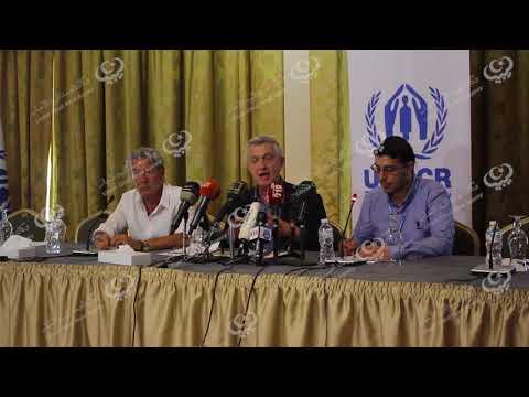 طرابلس.. مؤتمر صحفي للمفوض السامي لمفوضية شؤوناللاجئين