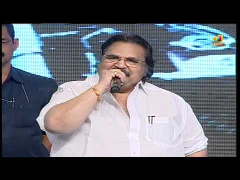 dasari talks about pawan kalyan - julayi audio launch - allu arjun ileana trivikram