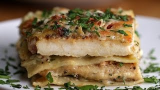 Chicken Alfredo Lasagna by Tasty