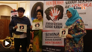Rosmah Bimbang Jenayah Seksual Kanak-Kanak Meningkat