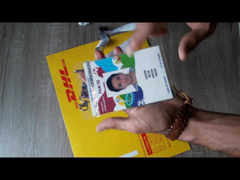 Unboxing FAN-ID And Fifa World Cup Tickets Russia 2018