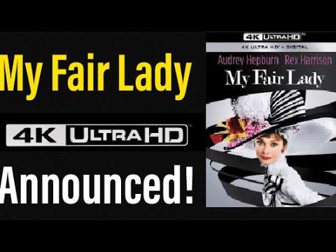 My Fair Lady (1964) 4K UHD Blu-ray Announced!