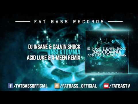 DJ Insane & Calvin Shock - Insektomnia (Acid Luke & X-Meen Remix)