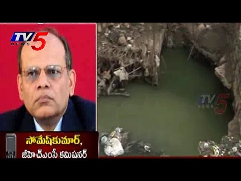 TV5 Effect | GHMC Commissioner take Action on Panjagutta Nala Works : TV5 News
