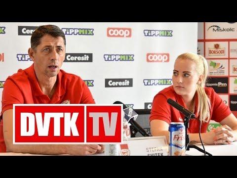 Sajttájékoztató az Aluinvent DVTK utolsó Európa Kupa mérkőzése előtt