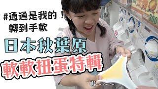 童樂會-我們轉了日本秋葉原全部的軟軟扭蛋