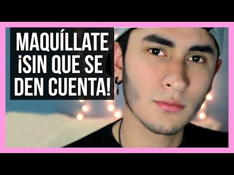 ➮ Maquillaje Natural Para Hombre | Uso Diario | No Person