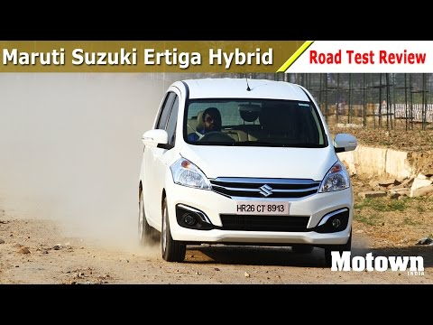 Maruti Suzuki Ertiga SHVS | Road Test Review | Motown India