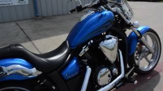 6. $5,399:  Pre Owned 2011 Yamaha 1300 Stryker Impact Blue For Sale