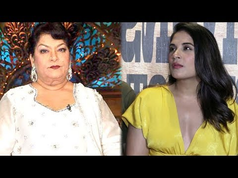 Richa Chadha's Reaction On Saroj Khan's 'Casting C