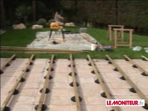 comment construire preau bois