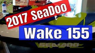 5. 2017 Sea Doo Wake 155 quick look