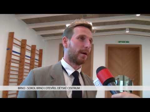 TV Brno 1: 30.10.2017 Sokol Brno otevřel dětské centrum