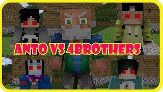 Video 4Brothers Kesurupan!!! (Anto vs 4Brothers) || Minecraft Animation MP3, 3GP, MP4, WEBM, AVI, FLV Oktober 2017