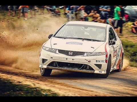 300 Lakes Rally 2013 moments Repšys/Tenys Honda Civic Type-R