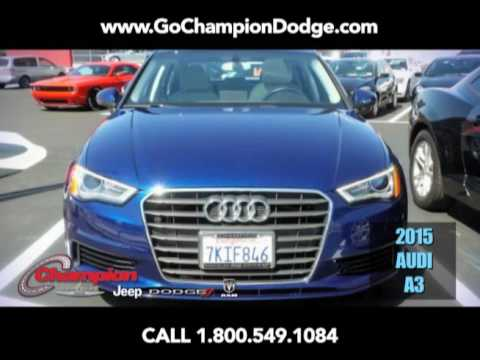 USED 2015 AUDI A3 for Sale - Los Angeles, Cerritos, Downey, Long Beach CA - PREOWNED DEAL
