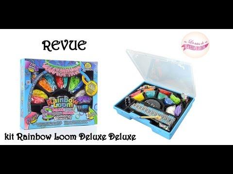 [ REVUE ] KIT rainbow loom deluxe deluxe