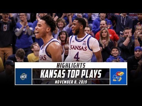 No. 3 Kansas Basketball Top Plays vs. UNC Greensboro (2019-20) | Stadium