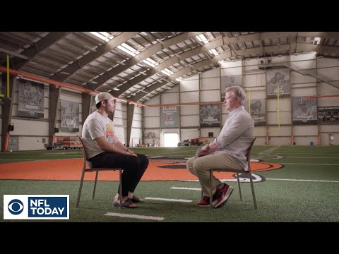 Video: Exclusive Baker Mayfield interview with Phil Simms | The NFL Today