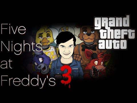 ПЯТЬ НОЧЕЙ С ФРЕДДИ в ГТА / Обзор мода GTA San Andreas: FIVE NIGHTS AT FREDDY'S 3